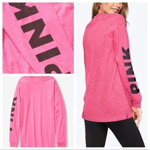 Vs 💕pink campus tee size large